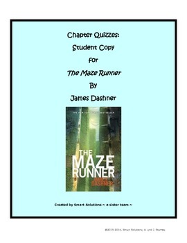 The Maze Runner - Multiple Choice Quizzes