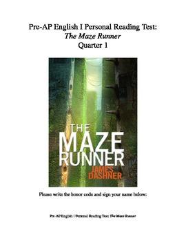 The Maze Runner Reading Test