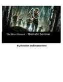 Socratic Seminar - The Maze Runner - Common Core Aligned