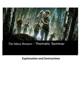 Socratic Seminar - The Maze Runner - Common Core Aligned