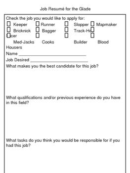 """""""The Maze Runner"""", by J, Dashner, Job Resume, Evalution, Description"""