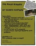 The Maze Runner by James Dashner BUNDLE
