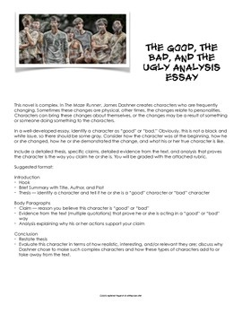 The Maze Runner by James Dashner Project Pack