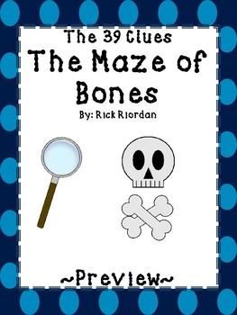 The Maze of Bones Literature Study