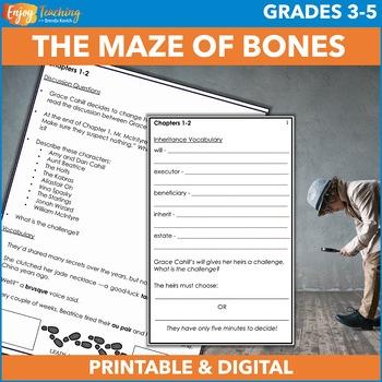 The Maze of Bones Mystery Novel Study Unit (The 39 Clues)