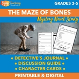 The Maze of Bones Mystery Novel Study Unit (The 39 Clues)