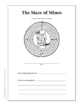 The Maze of Minos (Leveled Readers' Theater, Grade 6+)