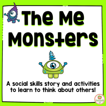 Social Skills Story: Thinking of Others, School