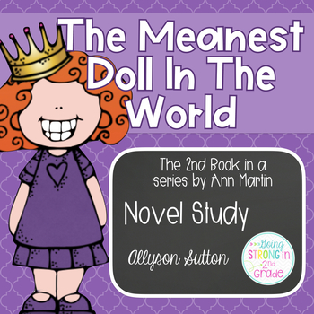 The Meanest Doll In The World Novel Study: The Doll People Sequel