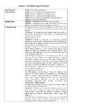 The Meaning of Division Lesson Plan Worksheets Modifications/Differentiation
