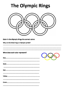The Meaning of the Olympic Rings Activity