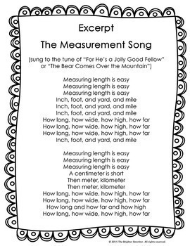 Measurement Song Lyrics By The Brighter Rewriter Tpt