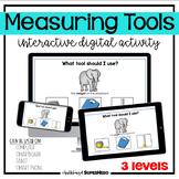 The Measuring Tools interactive digital activity