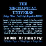 The Mechanical Universe Blue · Electricity & Magnetism BUNDLE