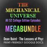 The Mechanical Universe · Complete MEGABUNDLE