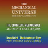 The Mechanical Universe High School: Complete MEGABUNDLE