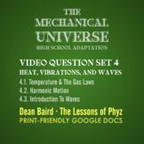 The Mechanical Universe High School Set 4: Temperature, Vi