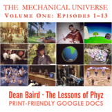 The Mechanical Universe · Original Sequence Volume One BUNDLE