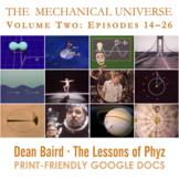 The Mechanical Universe · Volume Two BUNDLE