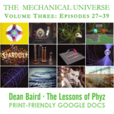 The Mechanical Universe · Volume Three BUNDLE