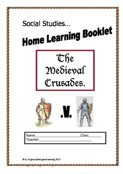 The Medieval Church and Crusades homework booklet