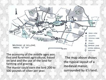 The Medieval Manor - economic powerhouse of the middle ages