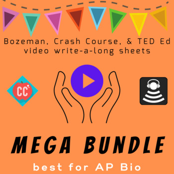 The Mega Bozeman and Crash Course Write-a-Long Bundle