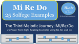 The Melodic Journey: Sight Singing Mi, Re, and Do