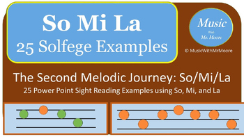 The Melodic Journey: Sight Singing So, Mi, and La