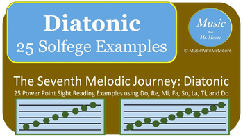 The Melodic Journey: Sight Singing the Diatonic Scale