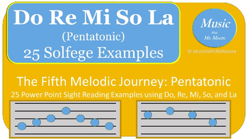 The Melodic Journey: Sight Singing the Pentatonic Scale