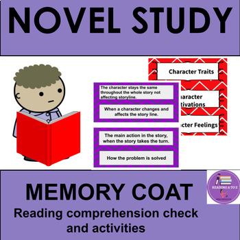 Reading Response activity:The Memory Coat