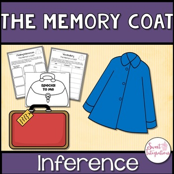 THE MEMORY COAT - Book Study and Teaching Inference FREE