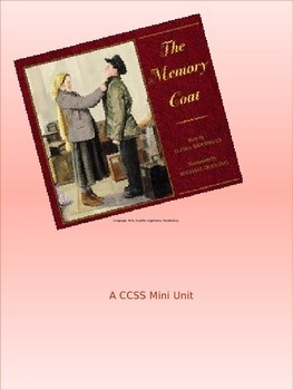 The Memory Coat, a Language art unit.