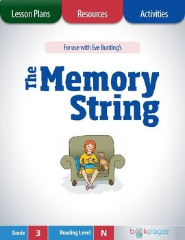 The Memory String Lesson Plans & Activities Package, Third Grade (CCSS)
