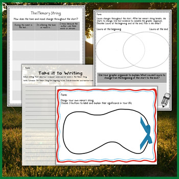 The Memory String by Eve Bunting Interactive Read Aloud Lesson Plan