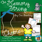 The Memory String by Eve Bunting Theme Interactive Read Aloud Lesson Plan