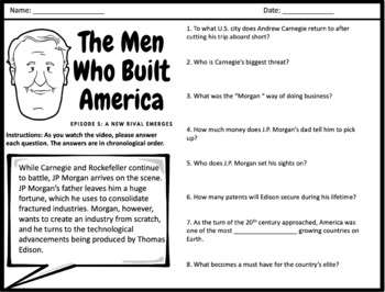The Men Who Built America - Episodes 5 & 6