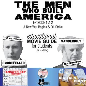 The Men Who Built America - Ep 1 & 2 Movie Guide   Worksheet (TV - 2012)