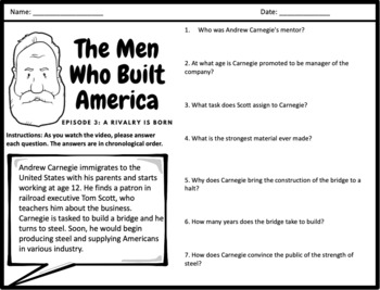 The Men Who Built America - Episodes 3 & 4