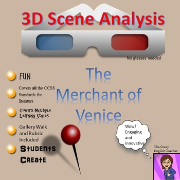 The Merchant of Venice 3D Scene Analysis Project Diorama: Standards Based