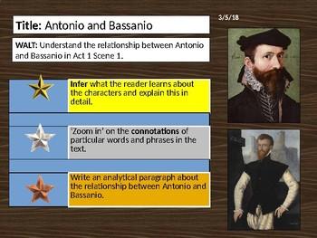 The Merchant of Venice - Act 1 Scene 1 (Antonio & Bassanio)