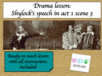 how is shylock portrayed in the merchant of venice