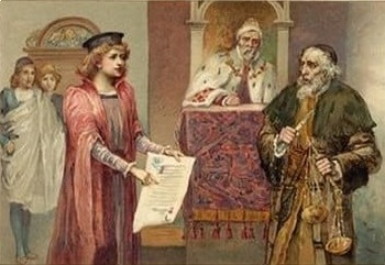 The Merchant of Venice Act 4 - Four Active Learning Tasks (Bundle)