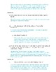 The Merchant of Venice Act III Study Guide and Key