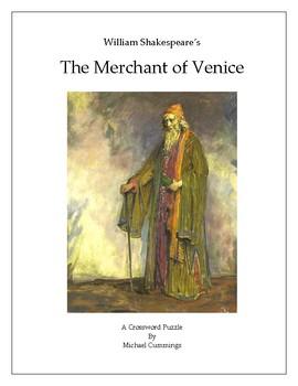 The Merchant of Venice Crossword Puzzle