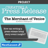 The Merchant of Venice: Event Press Release - Projects & PBL