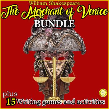 The Merchant of Venice Fun Activities Bundle- 15 games & a debate!