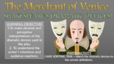 The Merchant of Venice - Shakespeare's Dramatic Devices!