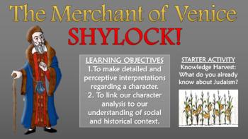 The Merchant of Venice - Shylock!